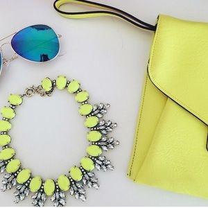 Jewelry - Neon Statement Necklace